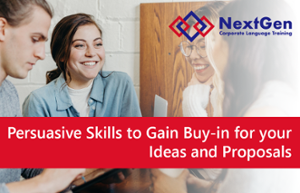thumbnails Talent Development Workshop: Developing Persuasive Skills to Gain Buy-in for your Ideas and Proposals
